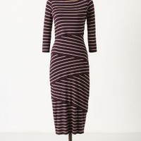 Tiered Stripes Dress