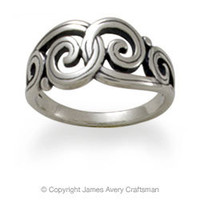 Gentle Wave Ring from James Avery