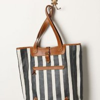 Ruled Tote - Anthropologie.com