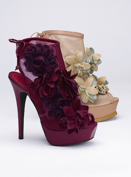 Floral Mesh Bootie - Colin Stuart?- - Victoria&#x27;s Secret
