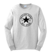 TAYLOR GANG LONG Sleeve T-shirt or DIE Wiz Khalifa YMCMB Chuck Long Sleeve Tee