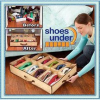 Shoe Organizer Storage Closet Under Bed [#00300127] - US$8.95 : Amazplus.com
