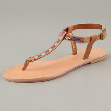 Twelfth St. by Cynthia Vincent Sedona Embroidered Sandals | SHOPBOP