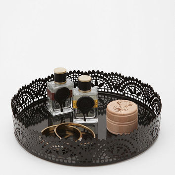 Cut Lace Vanity Tray-