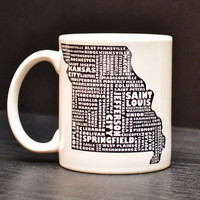 MISSOURI Coffee Mug - Unique Art Tea Cup