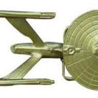 ROCKWORLDEAST - Star Trek, Belt Buckle, USS Enterprise