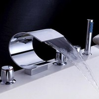 Waterfall Tub Faucets - $134 | The Gadget Flow