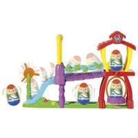 Playskool Weebles Playground with One (1) Weeble