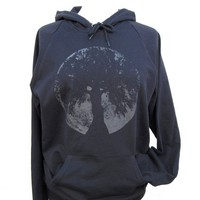 Glow in the Dark Moon Oak Goddess Hoodie Unisex Size by Glowees