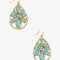 Almond Teardrop Earrings