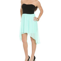 Sweetheart High-Low 2fer Dress | Shop Just Arrived at Wet Seal