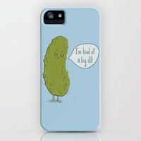 Big Dill iPhone Case by Phil Jones | Society6