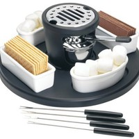 Casa Moda S'Mores Maker with Ceramic Round Tray