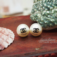 Chanel Christmas - Earrings - Chanel Pearl Sphere Earring