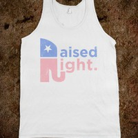 Raised Right (Faded Tank)