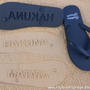 Hakuna Matata - Sand Imprint Flip Flops