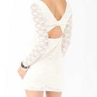 Open Back Lace Dress | FOREVER 21 - 2000045802