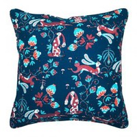 Rabbit Cushion, Blue - Pillows - Decoration - Finnish Design Shop