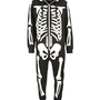Black Skeleton Glow In The Dark Onesuit