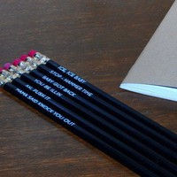Classic Rap Pencil Set - $15 | The Gadget Flow