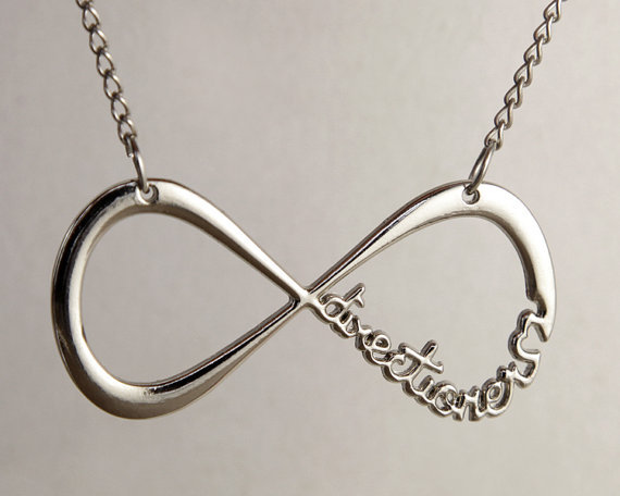One Direction Infinity Charm Silver.. on Luulla