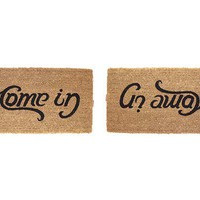 """Come in ; Go away"" Doormat"