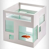 Mod 60&#x27;s Fish Hotel Fishbowl | PLASTICLAND