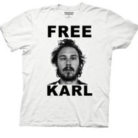 T-Shirt - Workaholics - Free Karl