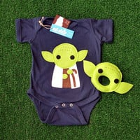 Sewing Wars Baby Youda Infant Bodysuit and Baby by micielomicielo
