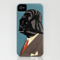 Retro Vader iPhone Case by Chase Kunz | Society6