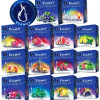 14 Flavor Variety Pack - 1 of each flavor of - Beamer® Ultra Premium Hookah Molasses 50 Gram boxes!