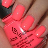 Amazon.com: China Glaze Nail Laquer with Hardeners Flip Flop Fantasy (Quantity of 4): Beauty