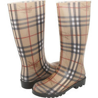 Burberry Check Rainboots - Free Shipping
