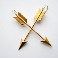 Arrow Earrings - Christmas Gifts Under 25 - Handmade Jewelry - Free Shipping in the US