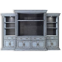Wall home entertainment center tv console Custom Made to order