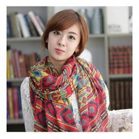 Corean Fashion and Unique Style Bohemian Feel Lengthen Scarf For Women/Girl China Wholesale - Everbuying.com