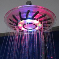 Amazon.com: Romantic 4 Mixed-color LED Shower Head Bathroom Sprinkler: Home Improvement