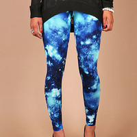 Galaxy Quest Leggings - Cool Leggings at Pinkice.com
