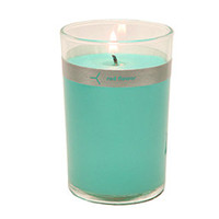GiftGenius: Red Flower Ocean Petal Top Candle