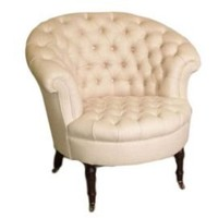 One Kings Lane - Little Bit of Luxe - George Smith Airdrie Chair, Sand
