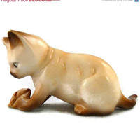 "Christmas Sale 30% off Cats Of Character Figurine  "" What's This""  by Danbury Mint"
