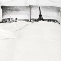 Urban Outfitters - Paris Panorama Pillowcase Set