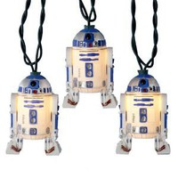 Amazon.com: Kurt S. Adler 10-Light Star Wars R2D2 Light Set: Home Improvement