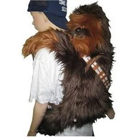 Amazon.com: Star Wars Chewbacca Back Buddy Plush: Toys &amp; Games