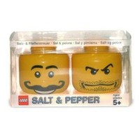 Amazon.com: Lego Mini-figure Salt and Pepper Set: Toys & Games