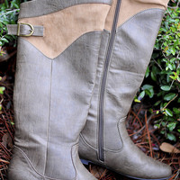 Take A Walk In Her Boots: Brown | Hope's