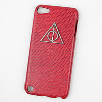 Deathly Hallows Harry Potter And Red Hard Case Cover for Apple Ipod Touch 5, iPod Touch 5th,iTouch 5,iPod Touch 5