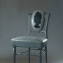Vintage Restored Marie Antoinette Chair - GHOST FURNITURE