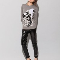 Wolf sweater [vac4012] - $96 : Pixie Market, Fashion-Super-Market