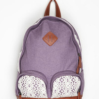 Urban Outfitters - Kimchi Blue Overdyed Lace Backpack
